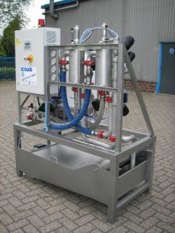 Innovative water and energy optimisation in hospital laundry operations - Innovative water decontamination project ...
